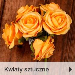 Kwiaty sztuczne zaopatrzenie kwiaciarni