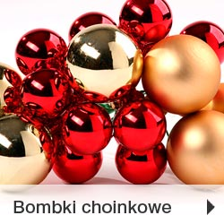 Bombki choinkowe na Boże Narodzenie