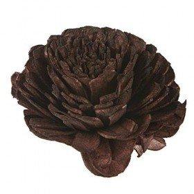 Kwiatki Belly 8 cm 6 szt./op. - brązowe
