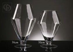 Kielich szklany duży 13 x 22 x 36 cm